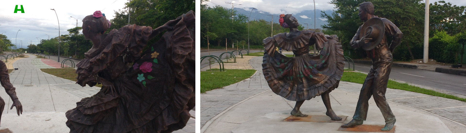 Monumentos al Baile Sanjuanero Huilense - Neiva - Slider - Huila Magnífica