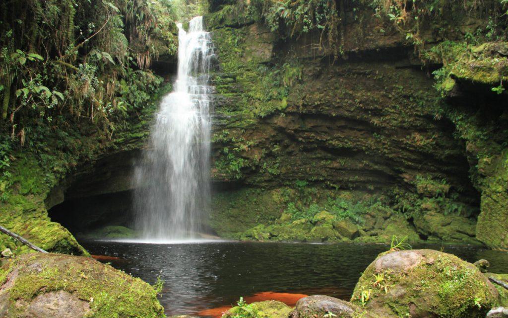 Cascada La Lindosa (Fotografía: Fundación Cerca Viva)