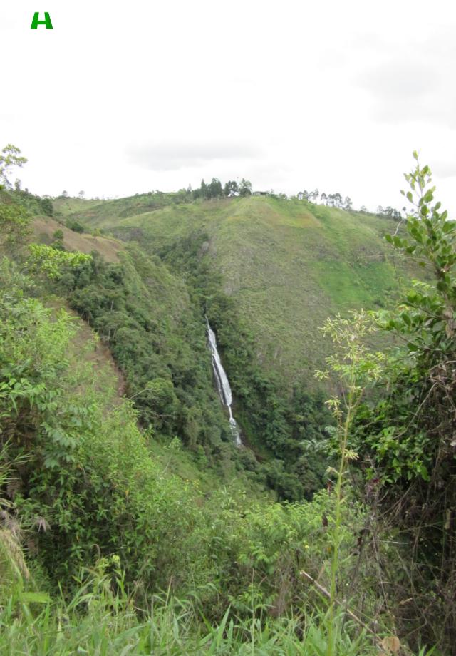 Cascada La Mona (Corregimiento de Belén)