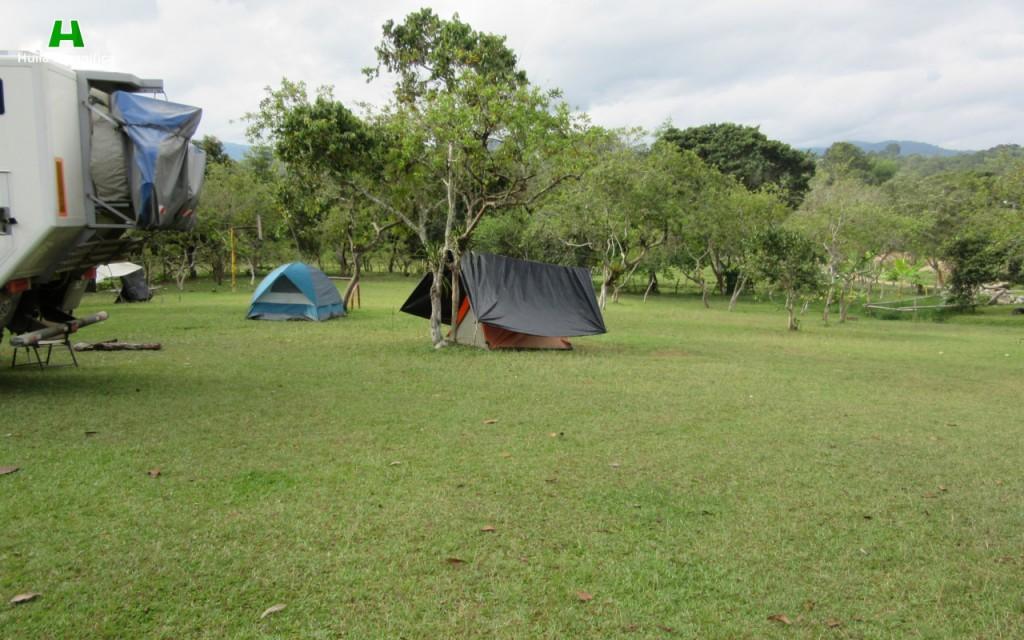 Zona de Camping Gamcelat.