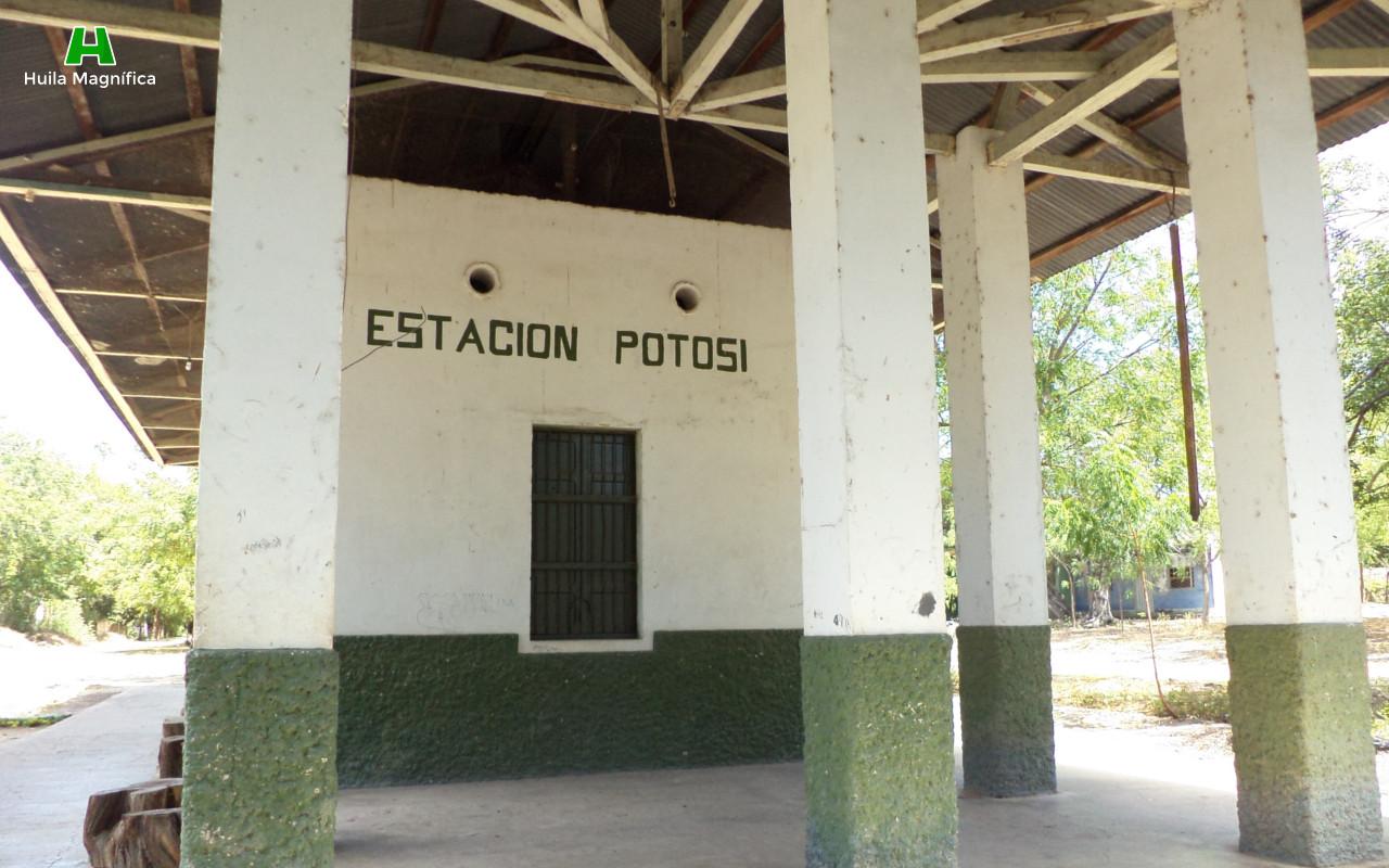Potosí, Antigua estación de Ferrocarril