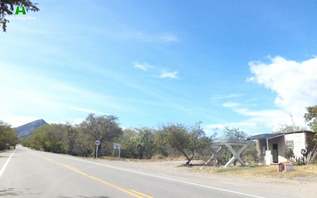 Salida del recorrido, estamos ahora en Tolima.