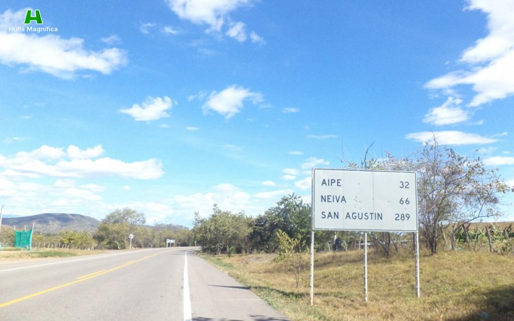 Carretera nacional, rumbo a Neiva de nuevo.
