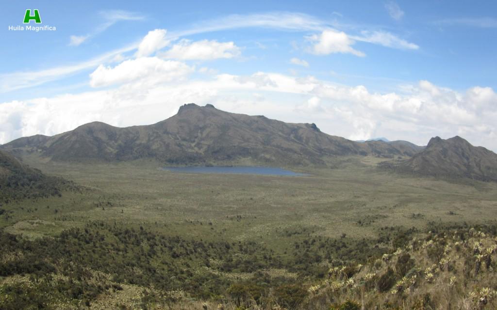 Laguna de la Magdalena vista desde el mirador.