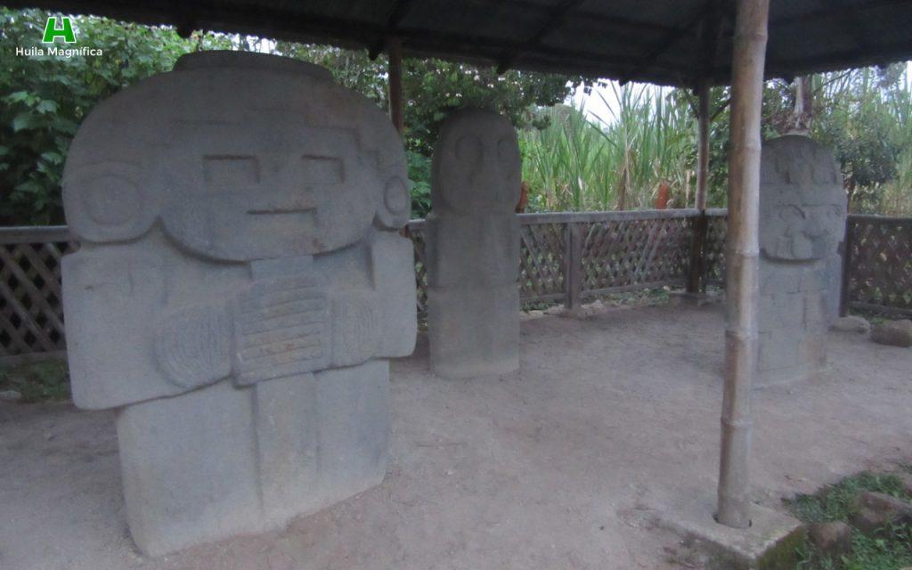 Estatuaria Vereda Quebradillas - San Agustín