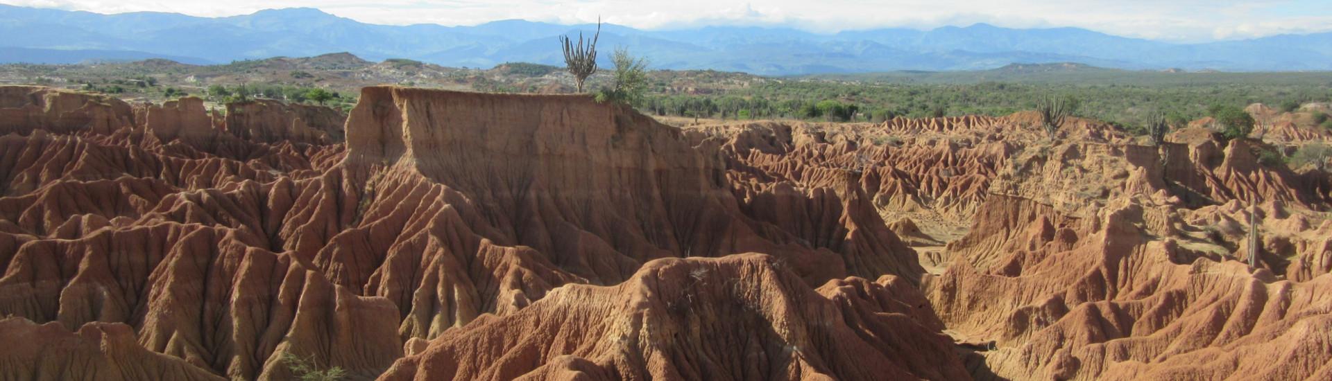 Desierto de la Tatacoa - Villavieja (Subregion Norte)