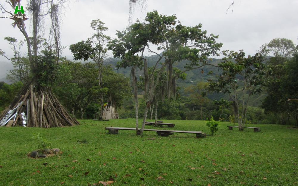 Zona de camping y tranquilidad