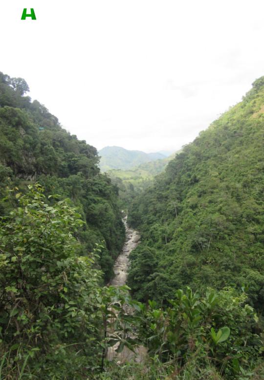 Río Baché - Desde el casco urbano a las Cascadas