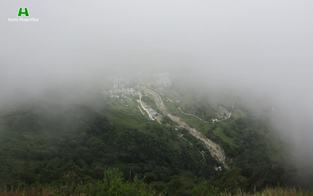 Municipio de Santa María visto desde el Cerro de la Cruz