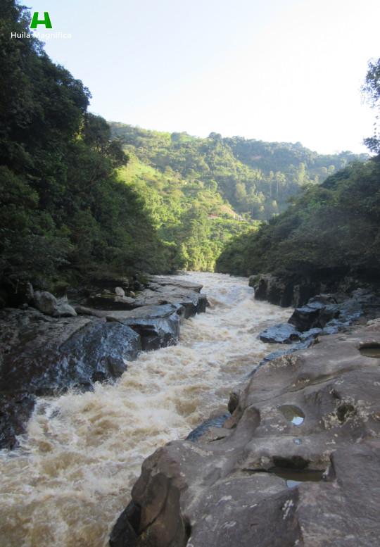 Paisaje en el Estrecho del Río Magdalena