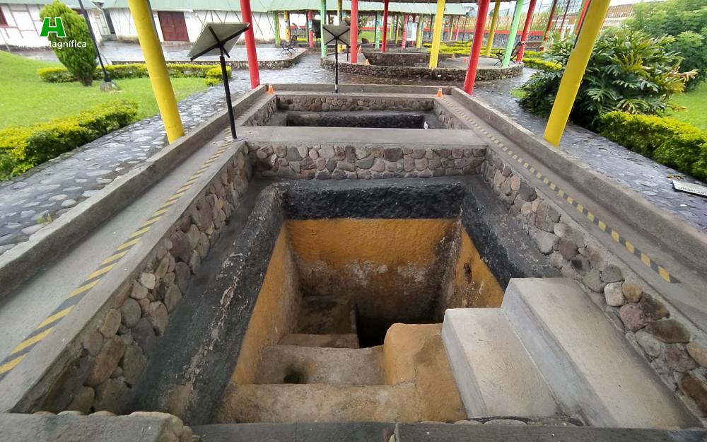 Tumbas subterraneas - Obando