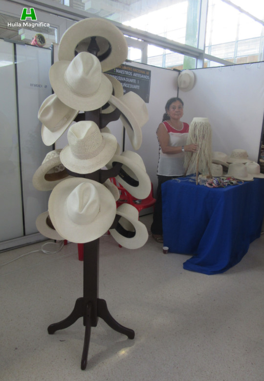 Sombrero Suaza - Artesanías Oliva Duarte (Municipio de Suaza)