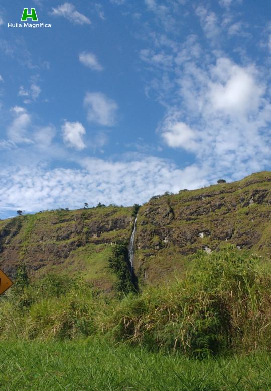 Cascada Simón Bolívar - Municipio de Isnos