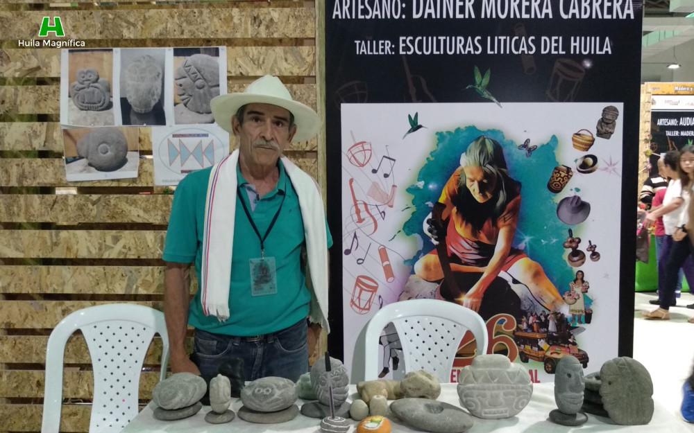 Dainer Morera Cabrera - Esculturas Líticas del Huila