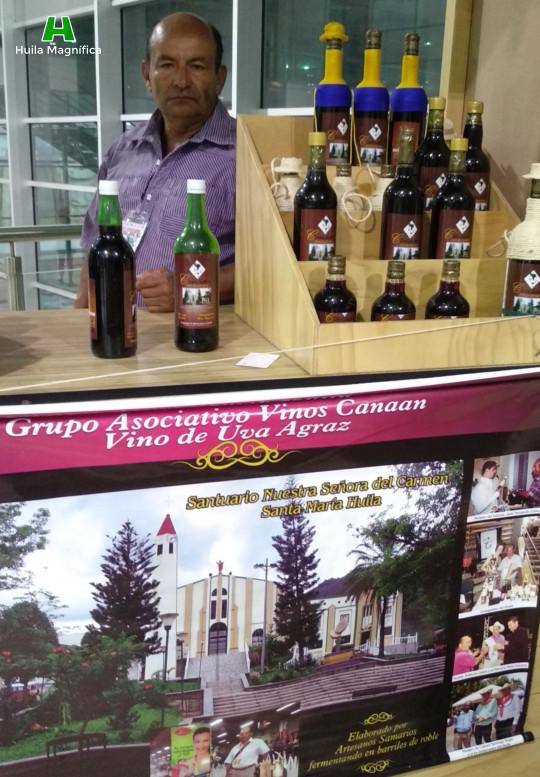 Grupo Asociativo Vinos Canaan Vino de Uva Agraz - Viñedo en el Municipio de Santa María