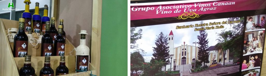 Grupo Asociativo Vinos Canaan Vino de Uva Agraz - Santa María - Huila Magnífica