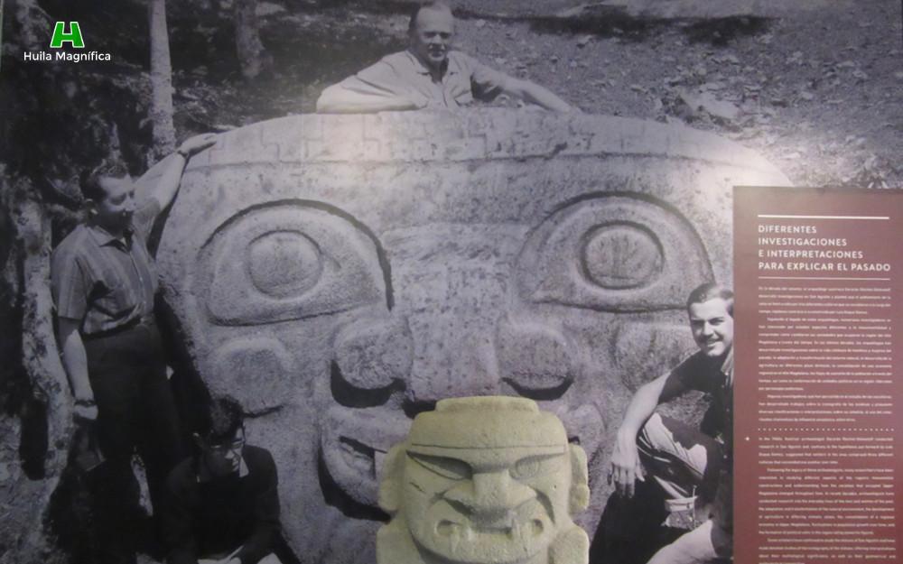 Fotografías de las primeras excavaciones arqueológicas