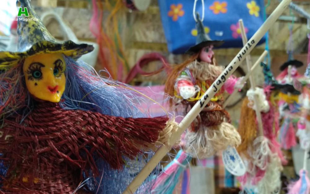 Brujita en fique, símbolo de La Jagua (Garzón)