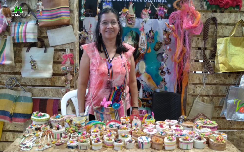 Norma Yolanda Naranjo Empresa: El Hechizo del Fique (La Jagua - Garzón)