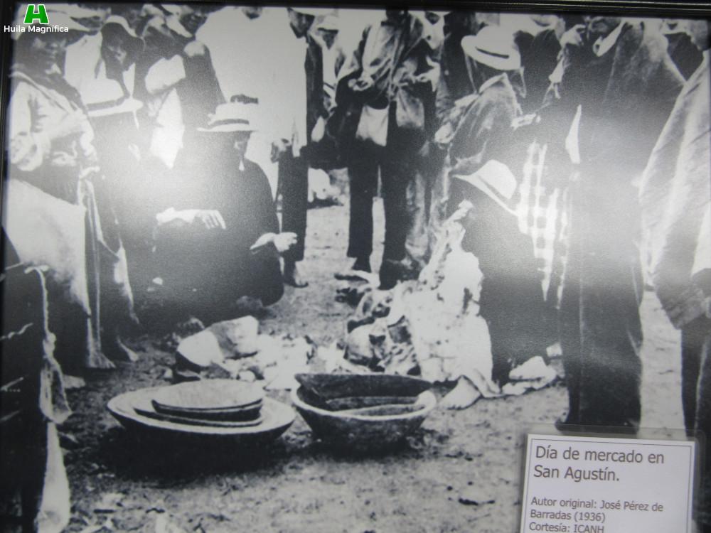 Día de mercado en San Agustín
