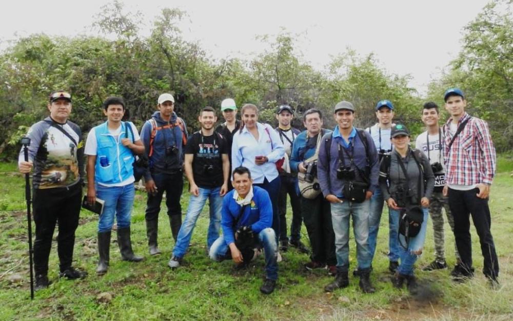 Asociación Ornitológica del Huila en el Jardín Botánico de Neiva