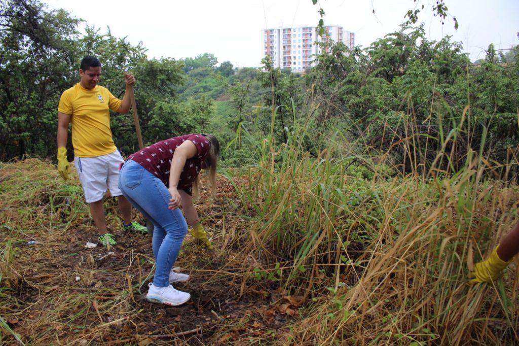 Limpieza de las zonas naturales del municipio