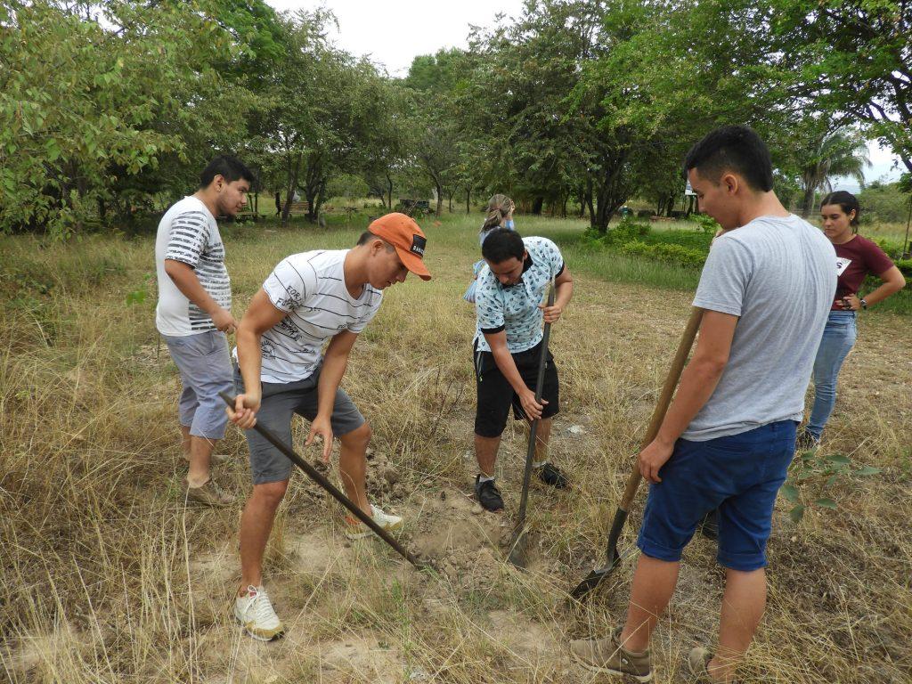 Reforestación en el Parque Jardín Botánico de Neiva