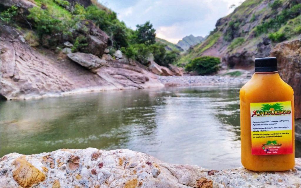 Chicha de Cuesco - Explorando los destinos ecológicos de Aipe