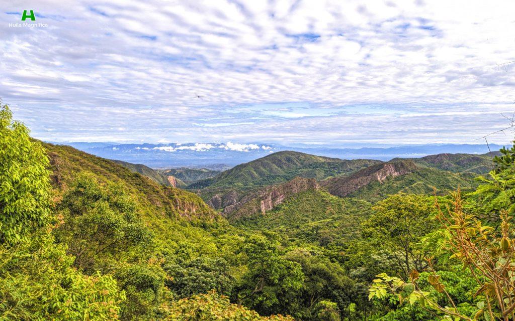 Paisaje desde la Tiendita - Vía San Antonio de Anaconia - Neiva