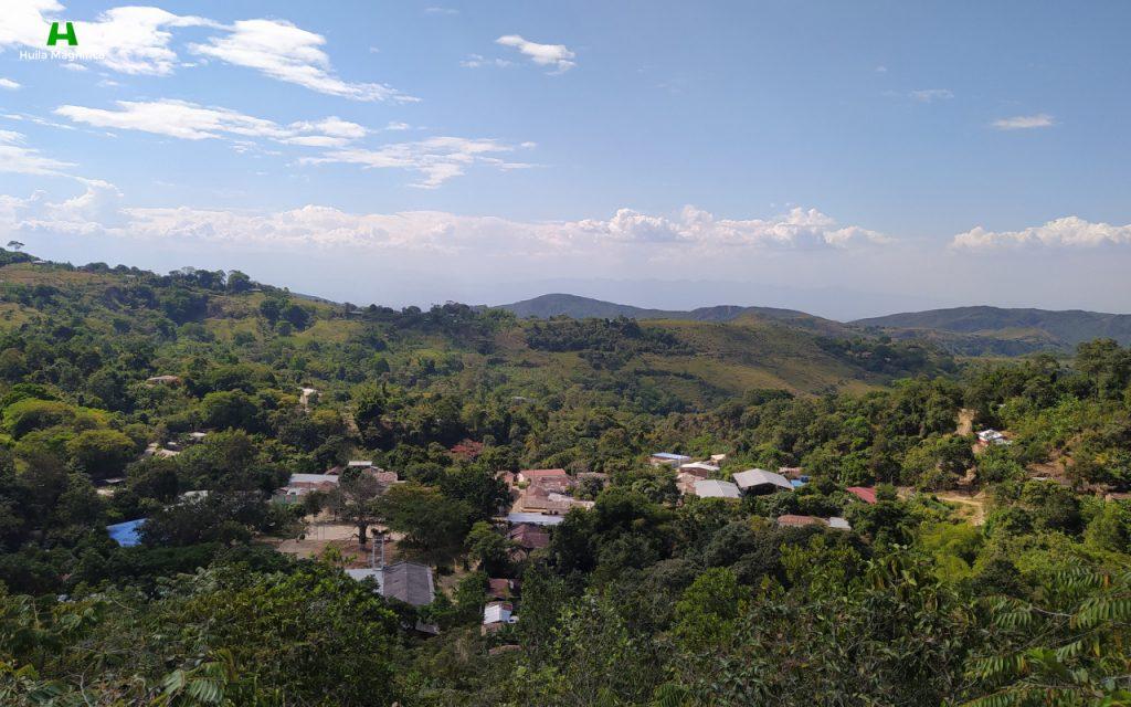 San Antonio de Anaconia desde el Cerro de la Virgen