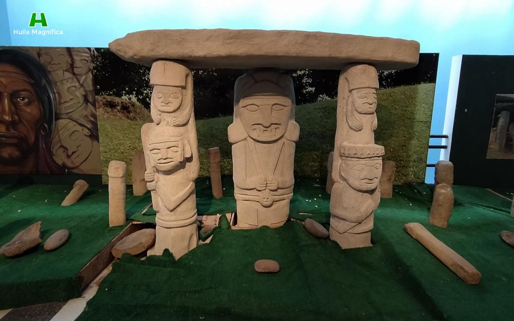 Réplica estatuaria del Parque Arqueológico de San Agustín