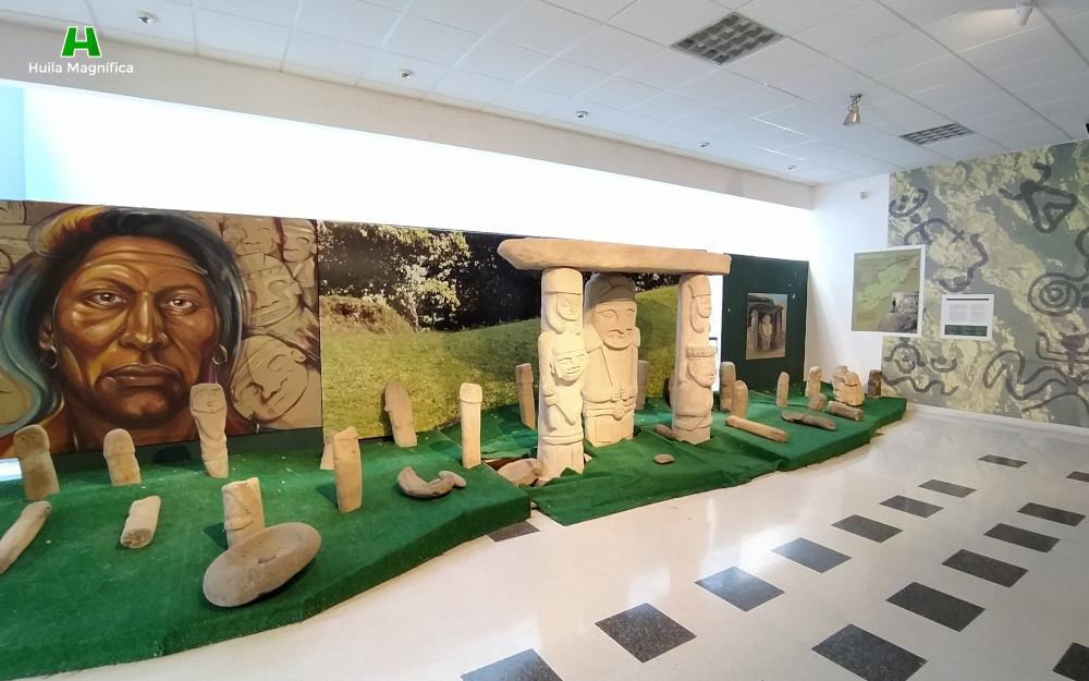 Sala de representación estatuaria