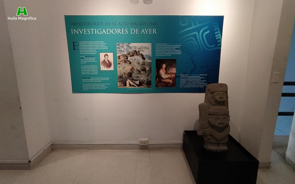 Arqeuológos en el Alto Magdalena - Investigadores del ayer
