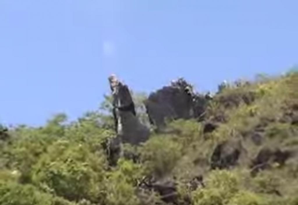 Filo del Fraile - Extraído del vídeo Cuevas del Fraile - Pocholo426