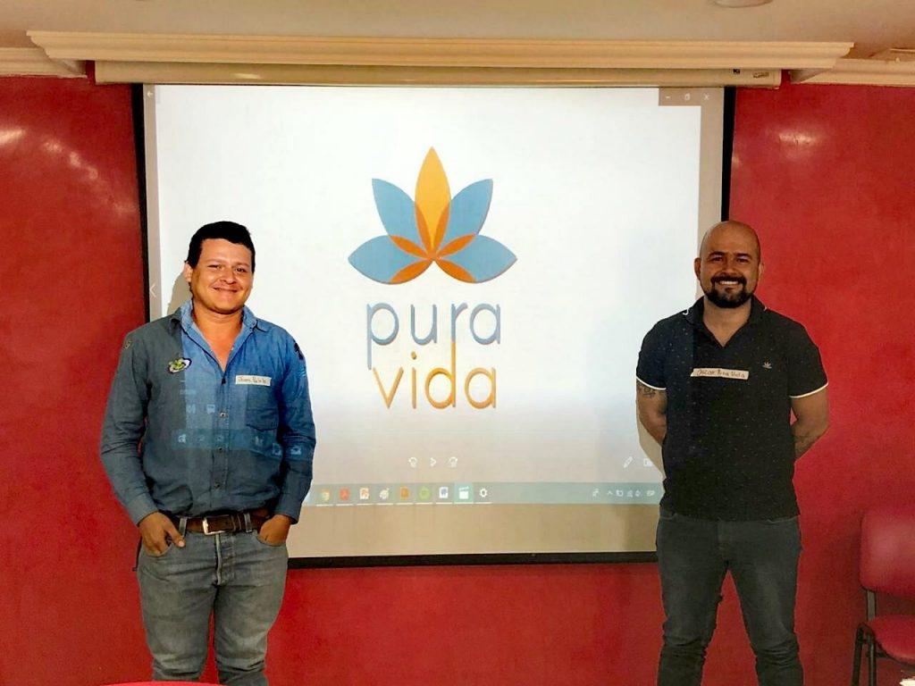 Fundadores de Pura Vida - Juan Pablo Calderón Mosquera y Oscar Fernando Calderón Mosquera