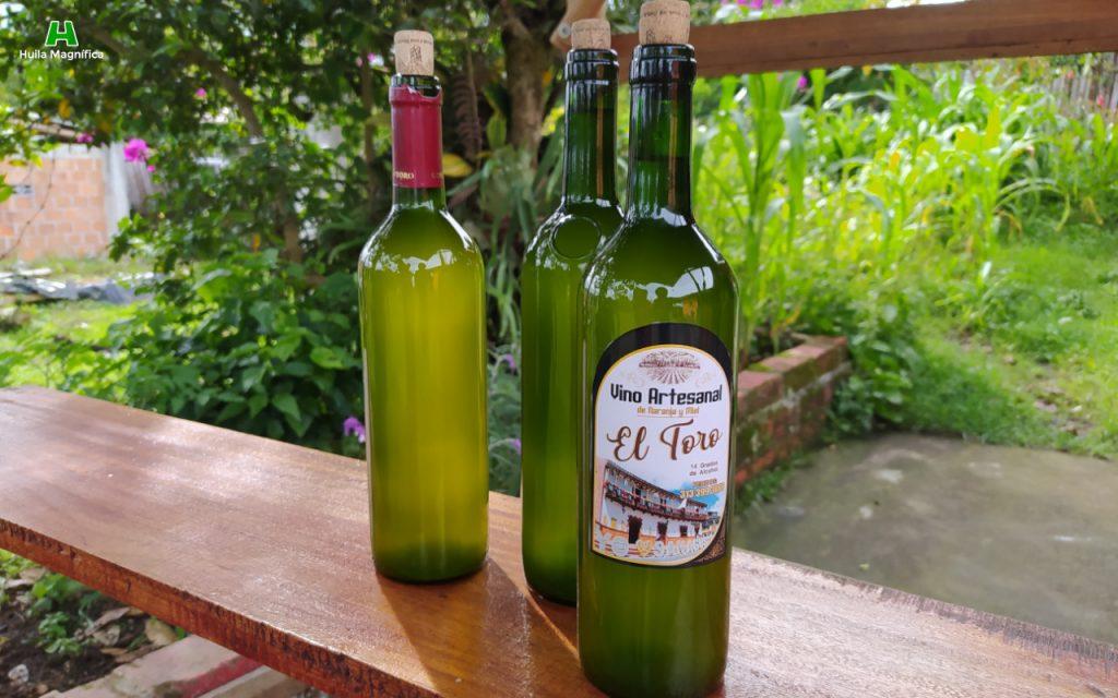 Vino Artesanal El Toro - Naranja y miel