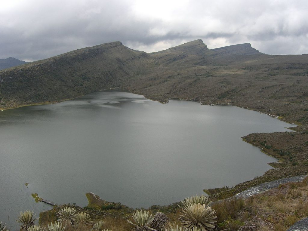 Laguna Chisacá - Parámo de Sumapaz (De Philipp Weigell - picture taken by Philipp Weigell, CC BY 3.0, https://commons.wikimedia.org/w/index.php?curid=3861363)