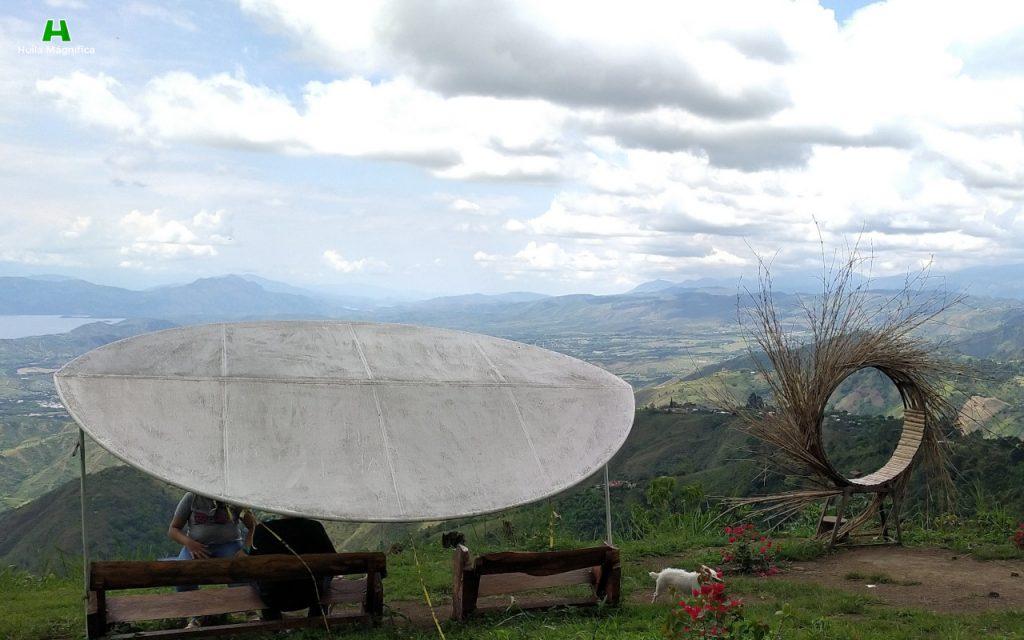 Zonas de descanso y observación del paisaje Garzoneño